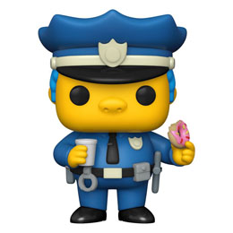 FIGURINE SIMPSONS FUNKO POP! CHIEF WIGGUM 9 CM