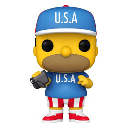 FIGURINE SIMPSONS FUNKO POP! USA HOMER 9 CM