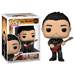 FALL OUT BOY POP! ROCKS FIGURINE PETE WENTZ