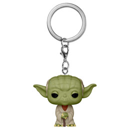 STAR WARS PORTE-CLÉS POCKET POP! YODA