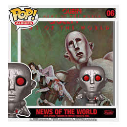 FUNKO POP QUEEN ALBUM NEWS OF THE WORLD 9 CM