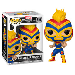 MARVEL LUCHADORES FUNKO POP! CAPTAIN MARVEL - LUCHA LIBRE EDITION