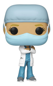 FRONT LINE WORKER POP! HEROES VINYL FIGURINE FEMALE #1