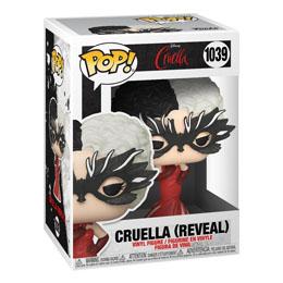 Photo du produit Cruella Funko POP! Disney Vinyl Cruella (Reveal) Photo 1