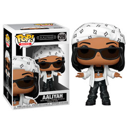 AALIYAH FUNKO POP! ROCKS FIGURINE AALIYAH 9 CM
