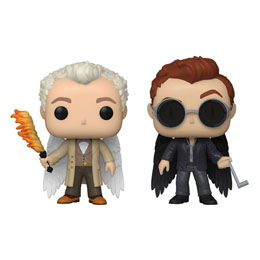 GOOD OMENS PACK 2 FUNKO POP! AZIRAPHEL & CROWLEY W/WINGS EXCLUSIVE