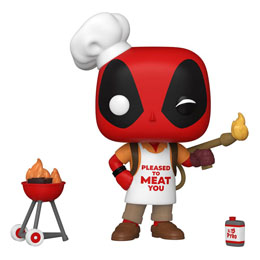 FUNKO POP MARVEL DEADPOOL 30TH ANNIVERSARY FIGURINE BACKYARD GRILLER DEADPOOL