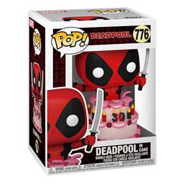 Photo du produit Marvel Deadpool 30th Anniversary Figurine POP! Vinyl Deadpool in Cake Photo 1