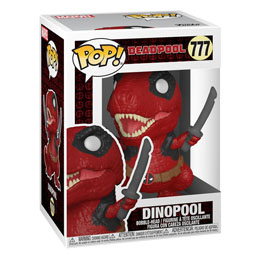 Photo du produit FUNKO POP MARVEL DEADPOOL 30TH ANNIVERSARY FIGURINE DINOPOOL Photo 1