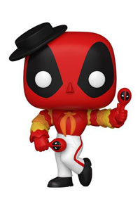 FUNKO POP MARVEL DEADPOOL 30TH ANNIVERSARY FIGURINE FLAMENCO DEADPOOL