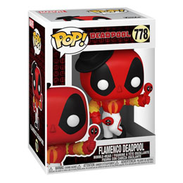 Photo du produit FUNKO POP MARVEL DEADPOOL 30TH ANNIVERSARY FIGURINE FLAMENCO DEADPOOL Photo 1