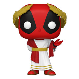 FUNKO POP MARVEL DEADPOOL 30TH ANNIVERSARY FIGURINE ROMAN SENATOR DEADPOOL