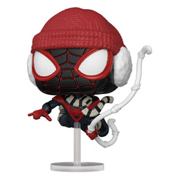 FUNKO POP MARVEL'S SPIDER-MAN FIGURINE MILES MORALES WINTER SUIT