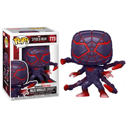 FUNKO POP MARVEL'S SPIDER-MAN FIGURINE MILES MORALES PM SUIT