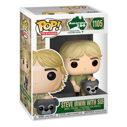 Photo du produit THE CROCODILE HUNTER POP! TV VINYL FIGURINE STEVE IRWIN W/SUI 9 CM Photo 1