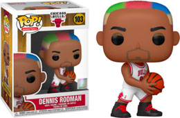 NBA LEGENDS POP! SPORTS VINYL FIGURINE DENNIS RODMAN (BULLS HOME)