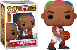 NBA LEGENDS POP! SPORTS VINYL FIGURINE DENNIS RODMAN (BULLS HOME)