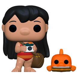 FUNKO POP DISNEY LILO AND STITCH LILO WITH PUDGE