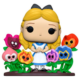 ALICE AU PAYS DES MERVEILLES POP! DELUXE FIGURINE ALICE WITH FLOWERS 20 CM