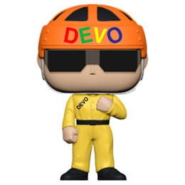 DEVO FUNKO POP! ROCKS SATISFACTION (YELLOW SUIT)