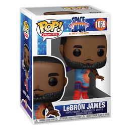 Photo du produit Space Jam 2 POP! Movies Vinyl Figurine LeBron James 9 cm Photo 1