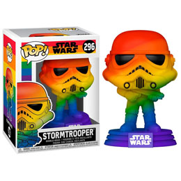 Star Wars POP! Pride Vinyl figurine Stormtrooper (RNBW) 9 cm