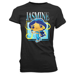 FUNKO T-SHIRT JASMINE BAND TEE PRINCESS DISNEY