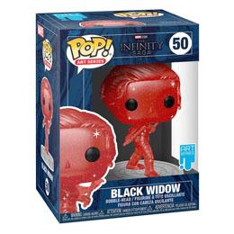 Photo du produit Infinity Saga Figurine POP! Artist Series Vinyl Black Widow (Red) Photo 1
