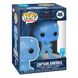 Photo du produit Infinity Saga Figurine POP! Artist Series Vinyl Captain America (Blue) Photo 1
