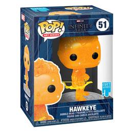 Photo du produit Infinity Saga Figurine POP! Artist Series Vinyl Hawkeye (Orange) Photo 1