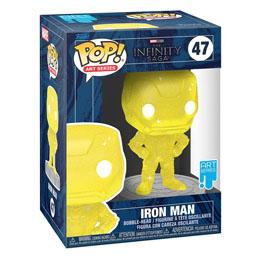 Photo du produit Infinity Saga Figurine POP! Artist Series Vinyl Iron Man (Yellow) Photo 1