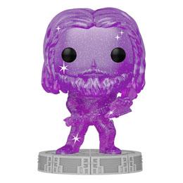 Infinity Saga Figurine POP! Artist Series Vinyl Thor (Purple) 9 cm