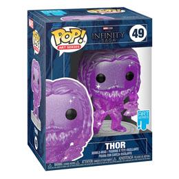Photo du produit Infinity Saga Figurine POP! Artist Series Vinyl Thor (Purple) 9 cm Photo 1