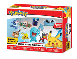 POKÉMON SÉRIE 1 PACK 8 FIGURINES BATTLE 5-7 CM