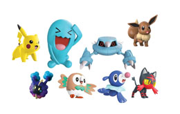 Photo du produit POKÉMON SÉRIE 1 PACK 8 FIGURINES BATTLE 5-7 CM Photo 1