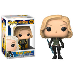 FIGURINE FUNKO POP MARVEL AVENGERS INFINITY WAR BLACK WIDOW