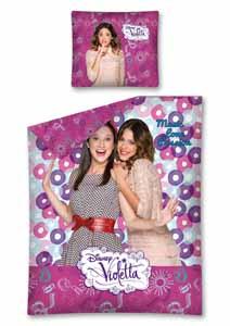 Parure de lit Disney Violetta 1 personne