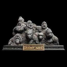 La Planète des singes statuette Apes Through the Ages 29 cm