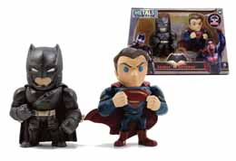 DC METALS BATMAN VS SUPERMAN - 2 PACK ARMORED BATMAN & SUPERMAN
