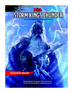 DUNGEONS & DRAGONS RPG ADVENTURE STORM KING'S THUNDER (EN ANGLAIS)