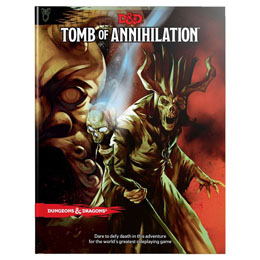 DUNGEONS & DRAGONS RPG ADVENTURE TOMB OF ANNIHILATION  (EN ANGLAIS)