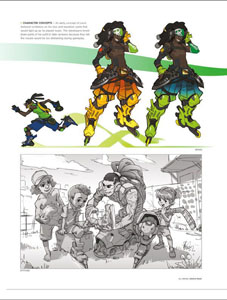 Photo du produit OVERWATCH ART BOOK THE ART OF OVERWATCH LIMITED EDITION (EN ANGLAIS) Photo 4