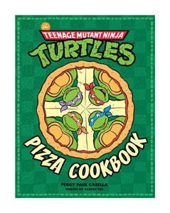LES TORTUES NINJA LIVRE DE CUISINE PIZZA COOKBOOK  [EN ANGLAIS]