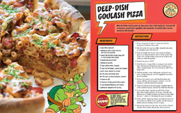 Photo du produit LES TORTUES NINJA LIVRE DE CUISINE PIZZA COOKBOOK  [EN ANGLAIS] Photo 2