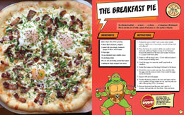 Photo du produit LES TORTUES NINJA LIVRE DE CUISINE PIZZA COOKBOOK  [EN ANGLAIS] Photo 3