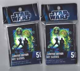 50 PROTEGE CARTES STAR WARS - RETURN OF THE JEDI