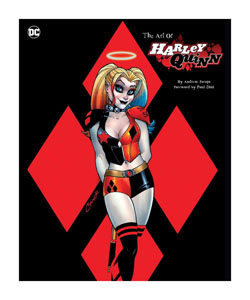 DC COMICS ART BOOK THE ART OF HARLEY QUINN [EN ANGLAIS]
