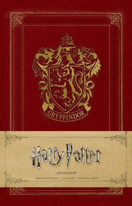 HARRY POTTER CARNET DE NOTES GRYFFINDOR
