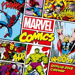 CALENDRIER 2018 MARVEL COMICS CLASSIC (ANGLAIS)