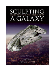 STAR WARS ART BOOK SCULPTING A GALAXY [ANGLAIS]